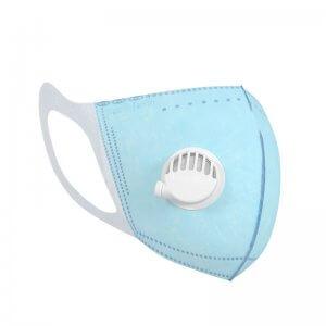 Fresh me <鮮氣禦守> 個人空氣清淨機-霧光黑 送3D剪裁舒適口罩(孩童15入)